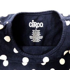 Circo Girls Black Ebony  Dress 6-6X  NWT  Swim cover up